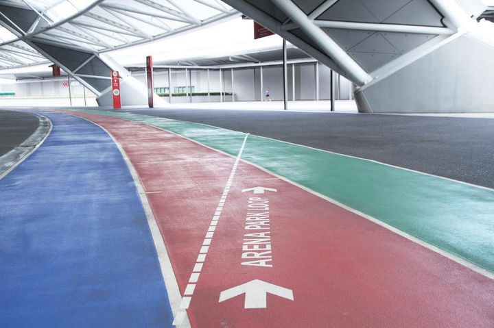 Run - 100PLUS Promenade tracks